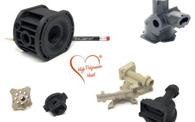 3D printing for technical components made of F10-PEEK and F10-HPP
