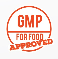 ACQUIRED GMP CERTIFICATION Food Contact Qualified Supplier