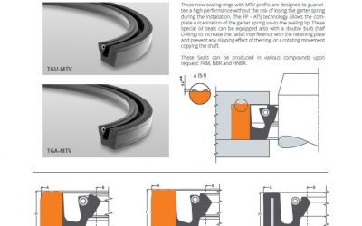 FP introduces the new oil seal with MTV design.