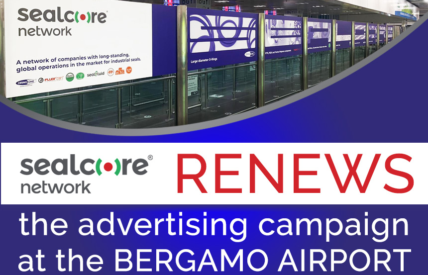 Advertising campaign at the Bergamo Airport